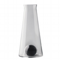 Carafe With Crystal Ball - Black